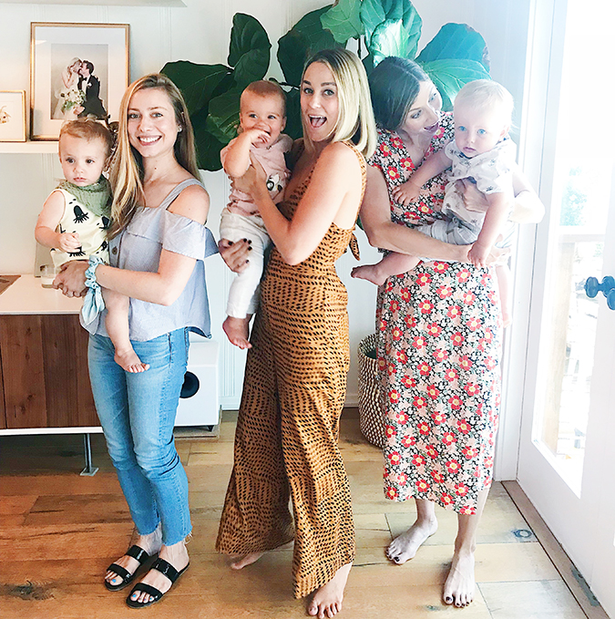 how to make new mom friends according to Lauren Conrad