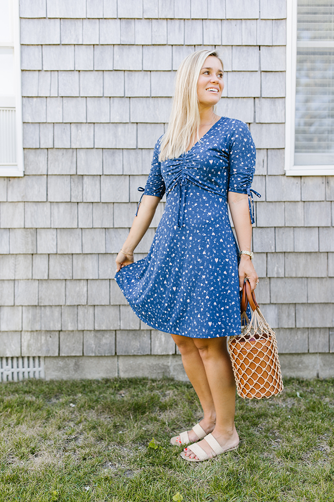 LC Lauren Conrad fit and flare dress