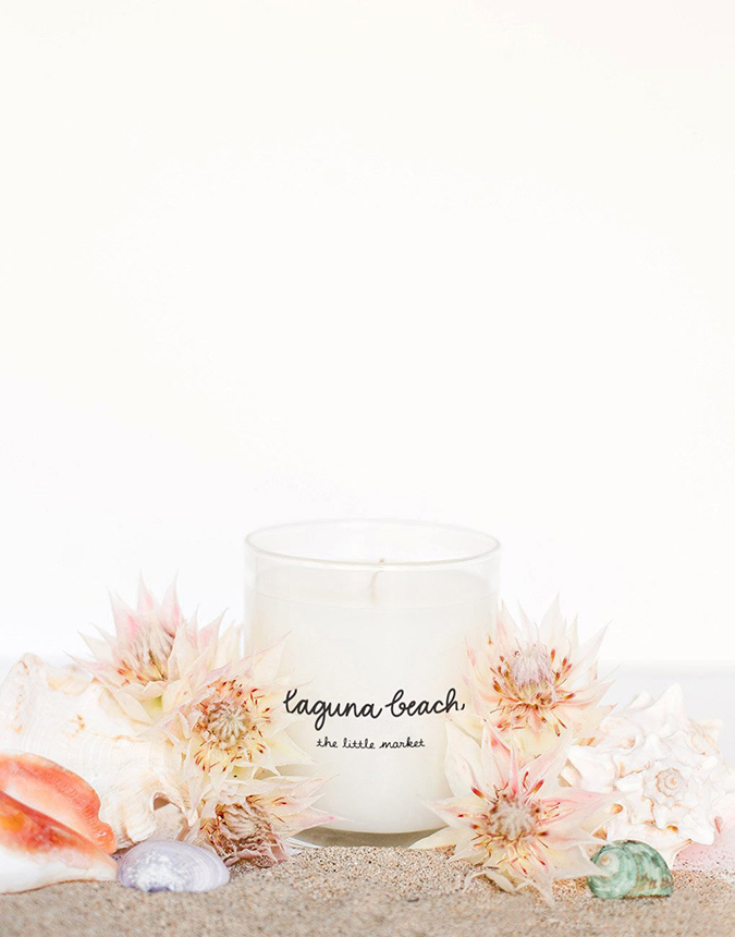 laguna beach scented candle from the little market