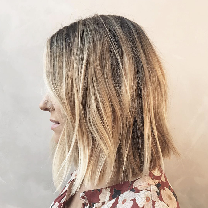 this is the right way to wash your hair according to Lauren Conrad