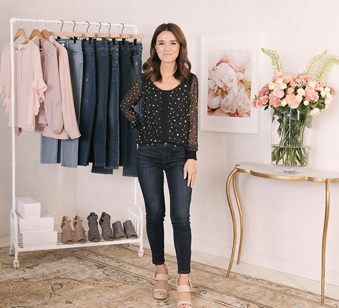 Chic Peek: My New LC Lauren Conrad Denim Collection