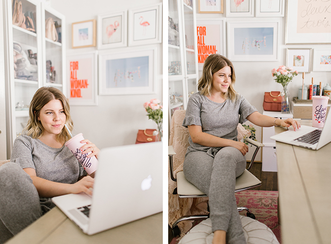 work from home wardrobe via laurenconrad.com