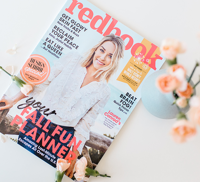 Here & There: My October Redbook Cover