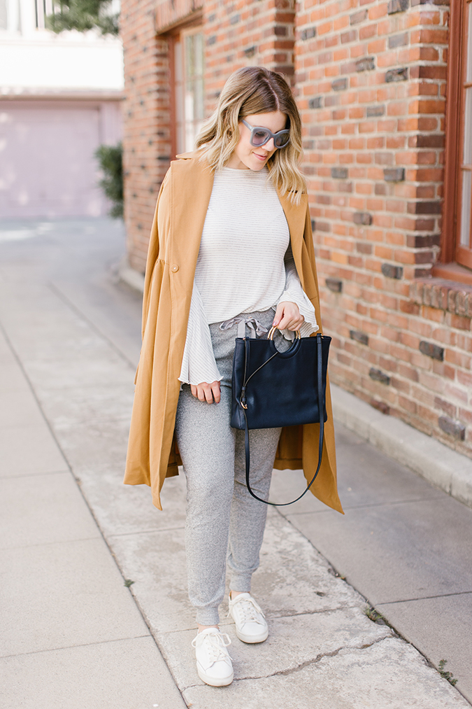 3 ways to wear a trench via laurenconrad.com