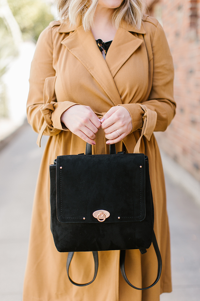how to wear a trench coat, 3 ways