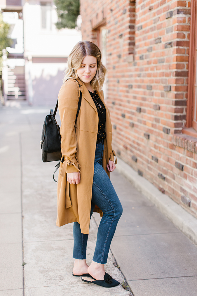 3 ways to wear a trench coat via laurenconrad.com