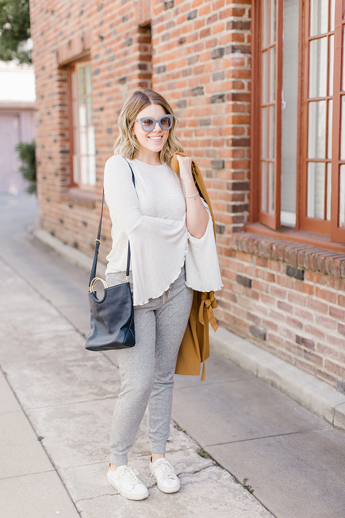 how to wear a trench coat, 3 ways via laurenconrad.com