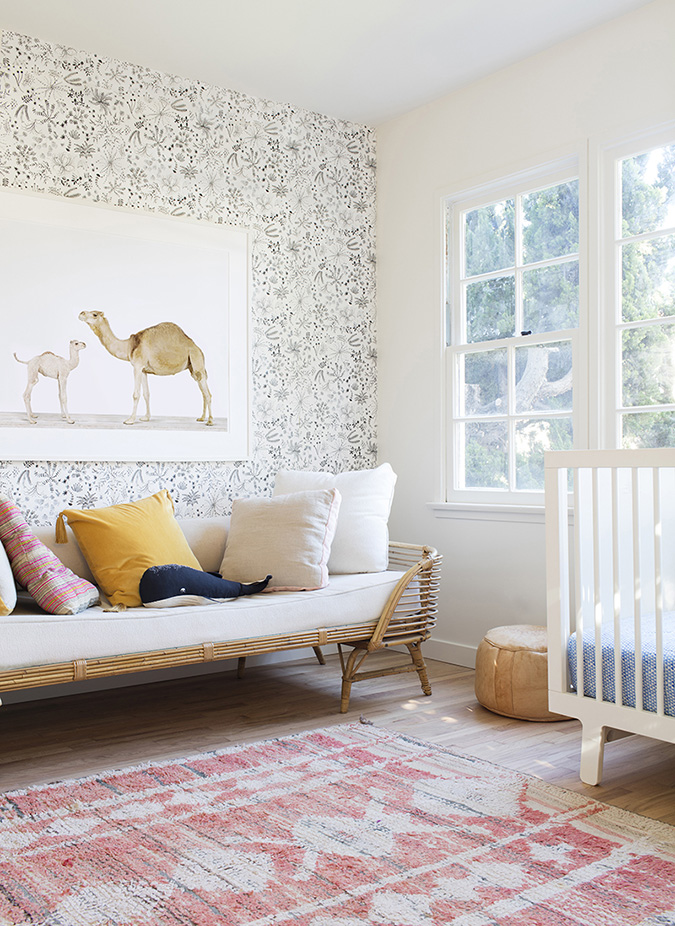 darling nursery via the animal print shop