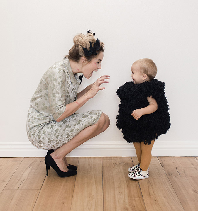 lauren conrad's halloween costume from the birds