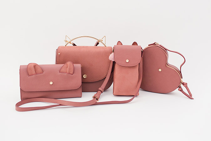 conversational fall handbags by LC Lauren Conrad