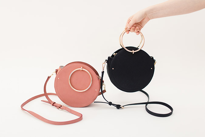 circle handbags for fall by LC Lauren Conrad