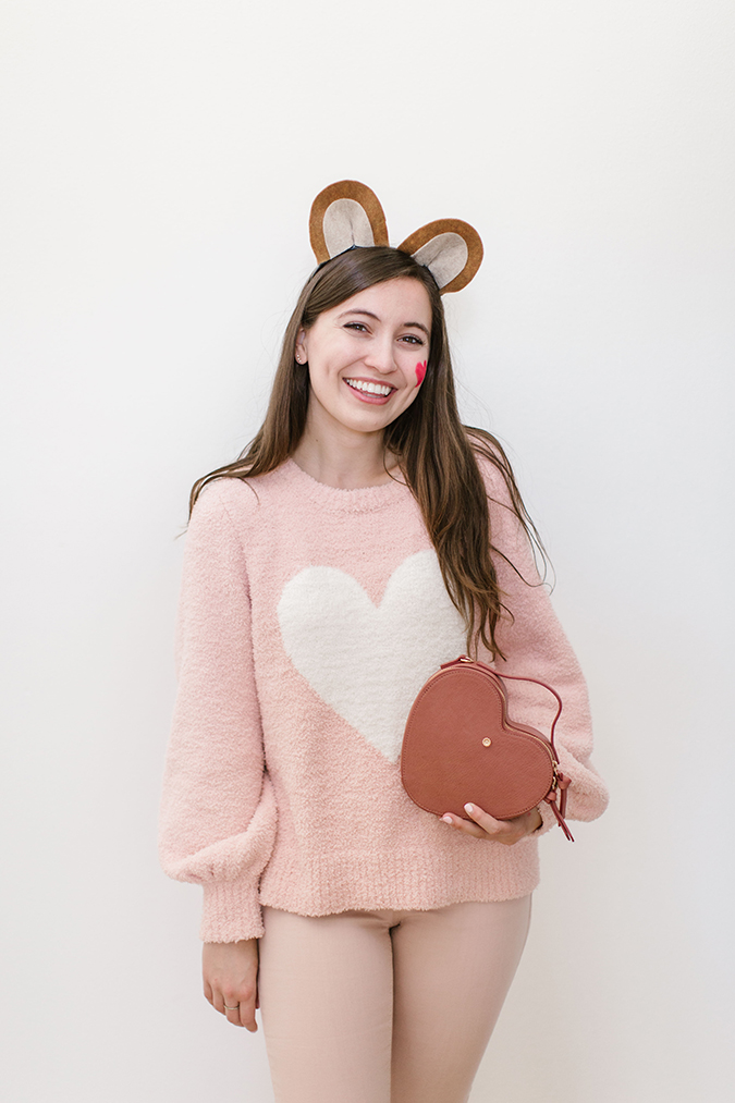 last minute care bear costume via laurenconrad.com