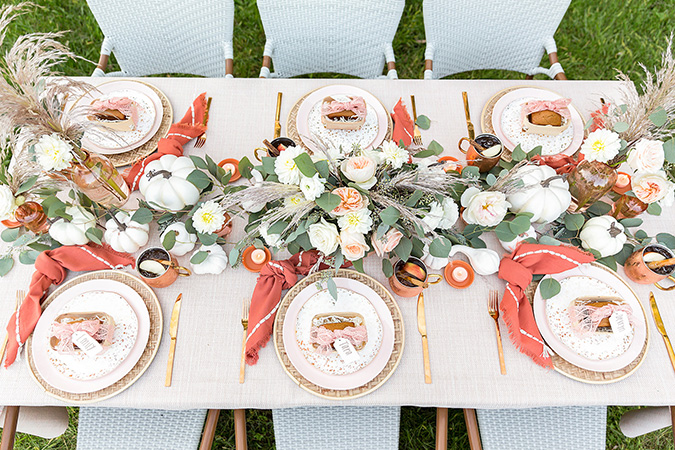 fall harvest dinner party via one stylish party