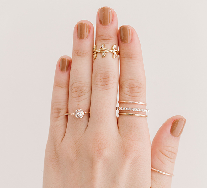 Style Guide: How to Build the Perfect Ring Stack