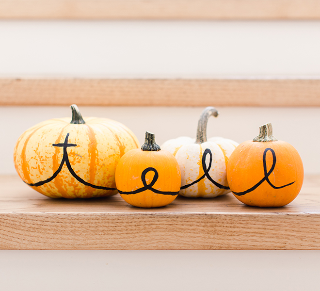 Inspired Idea: Personalized Pumpkins