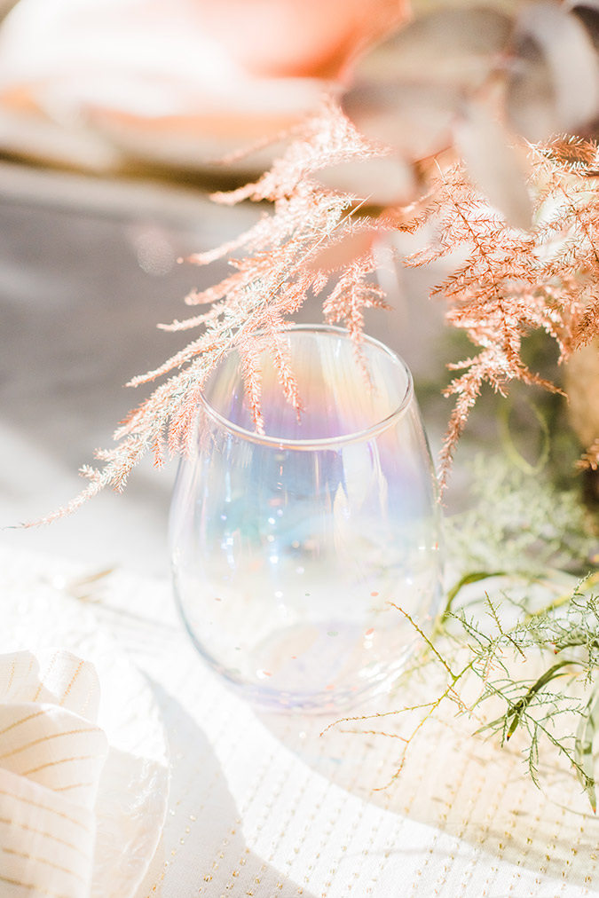 A Pastel Holiday Tablescape with LC Lauren Conrad | via LaurenConrad.com