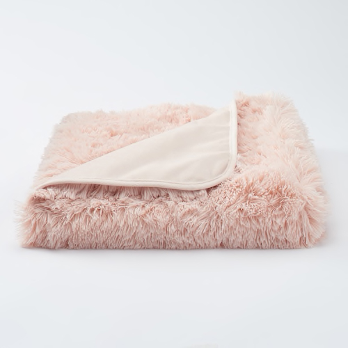 LC Lauren Conrad faux fur throw