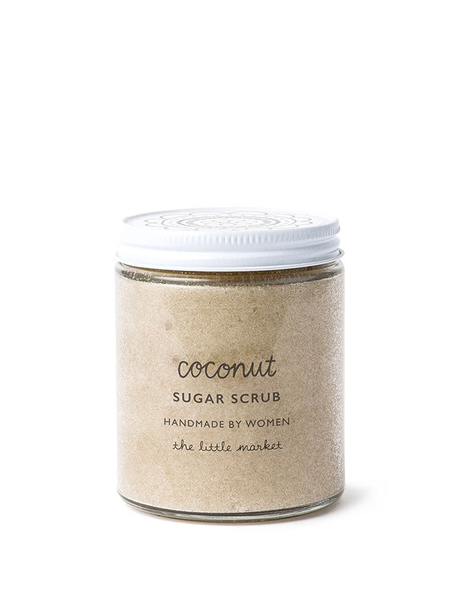 coconut sugar scrub from the little market