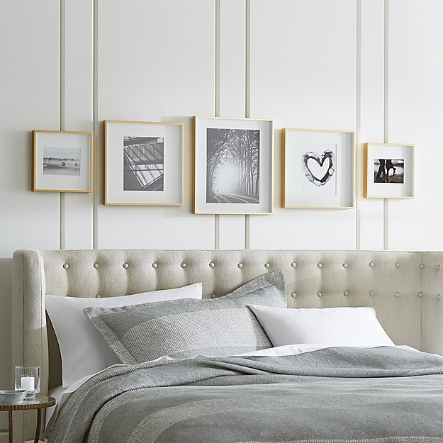 crate and barrel gallery frames