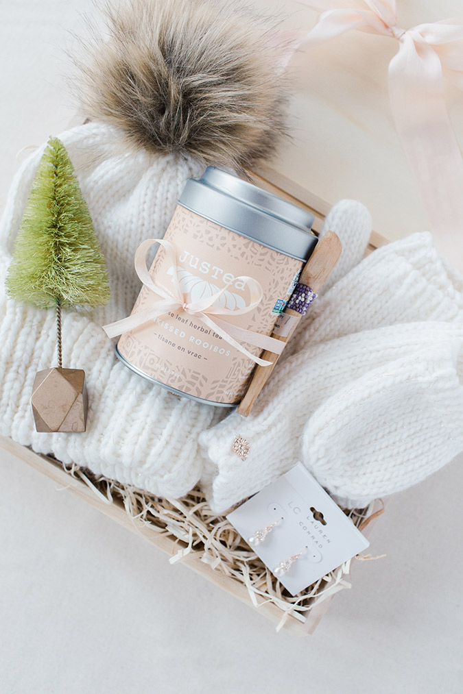 how to build the perfect gift box via laurenconrad.com