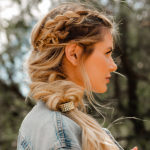 Hair How To: A No-Fuss Fishtail Tutorial From Amber Fillerup Clark