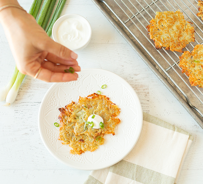Recipe Box: Grain-Free 3-Ingredient Latkes