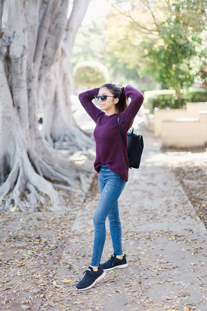 3 ways to style a cozy sweater