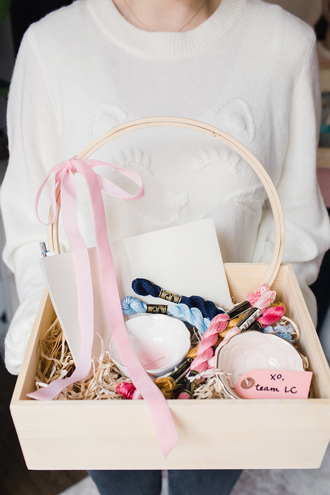 arts and craft kit gift idea via laurenconrad.com