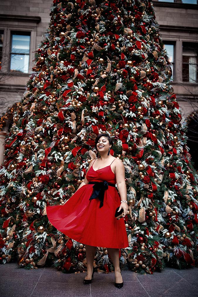 holiday season style inspo via laurenconrad.com