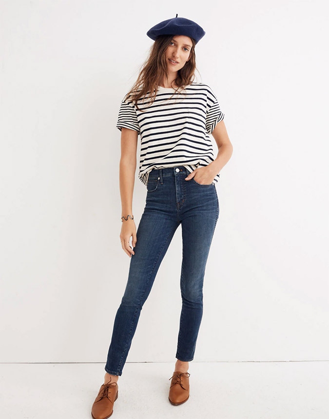 madewell high rise tall jeans