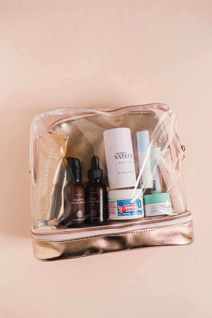 what's in our travel bags | laurenconrad.com