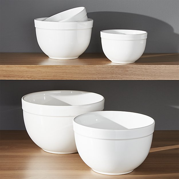 Crate and Barrel Nesting Bowls