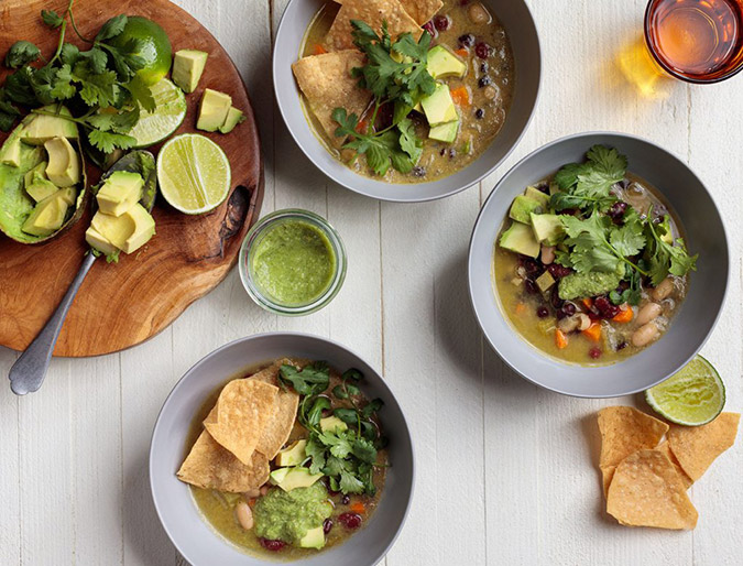 goop vegan tortilla soup
