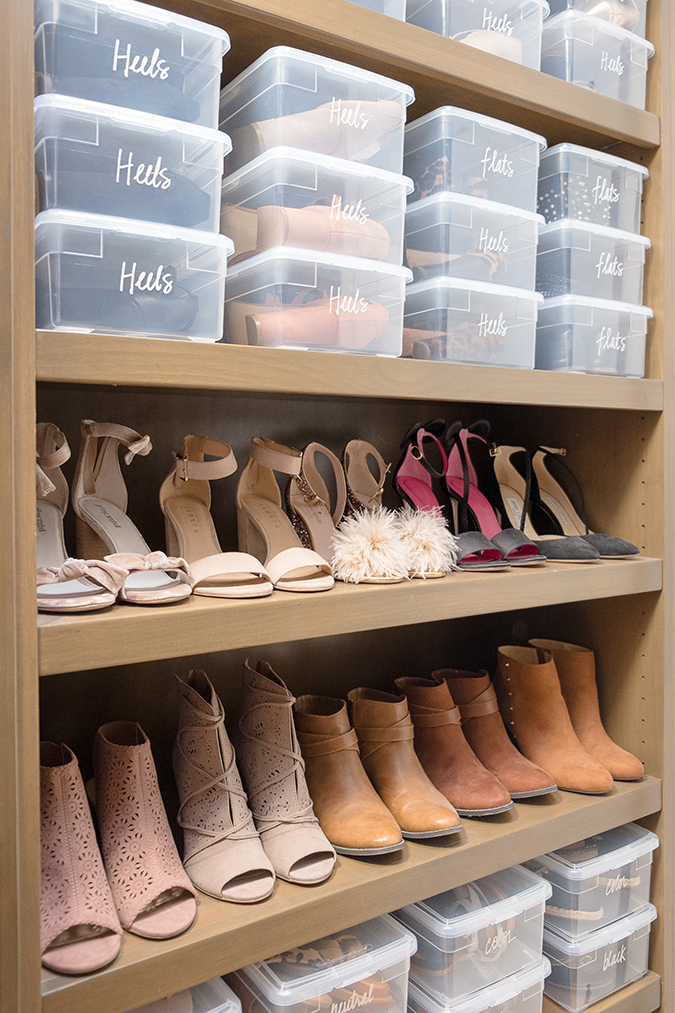 Brit + Co Closet Organization