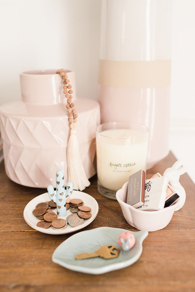 5 ways to use trinket trays via laurenconrad.com