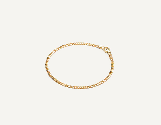 Vrai and Oro Link Bracelet
