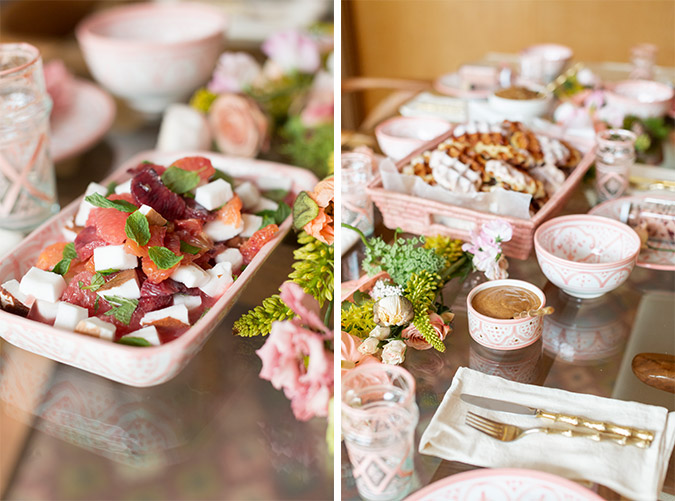 Galentine's Day Brunch via laurenconrad.com