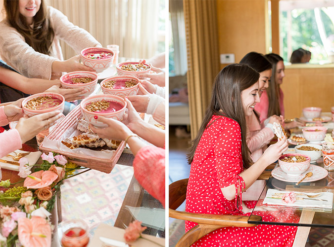 Galentine's Day Party via laurenconrad.com