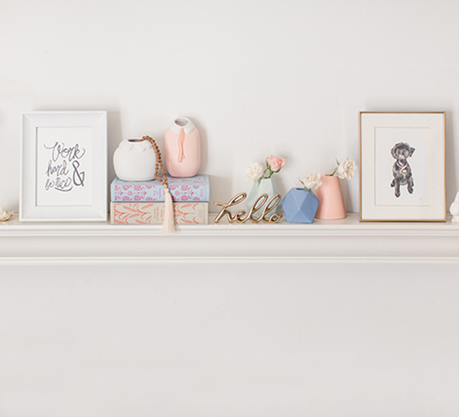 Odds & Ends: 5 Shelf Styling Tips