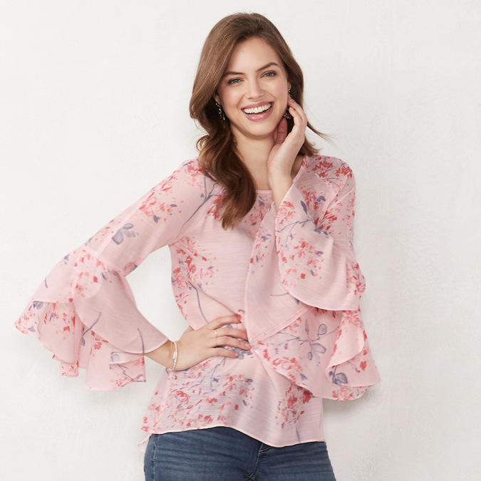 LC Lauren Conrad Saville Blooms pattern
