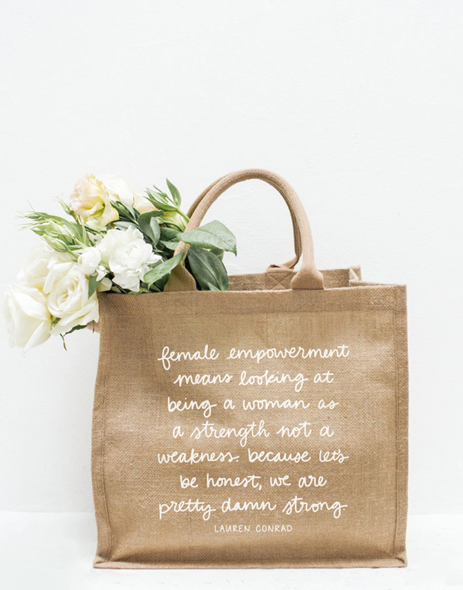 The Little Market Purposefull Tote