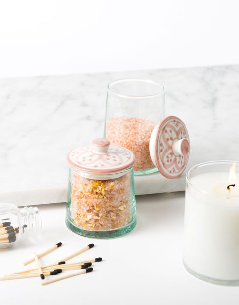The Little Market Glass Jars