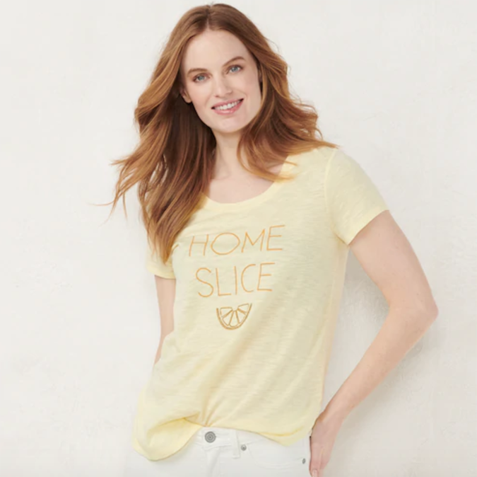 LC Lauren Conrad Graphic Tee for Kohl's