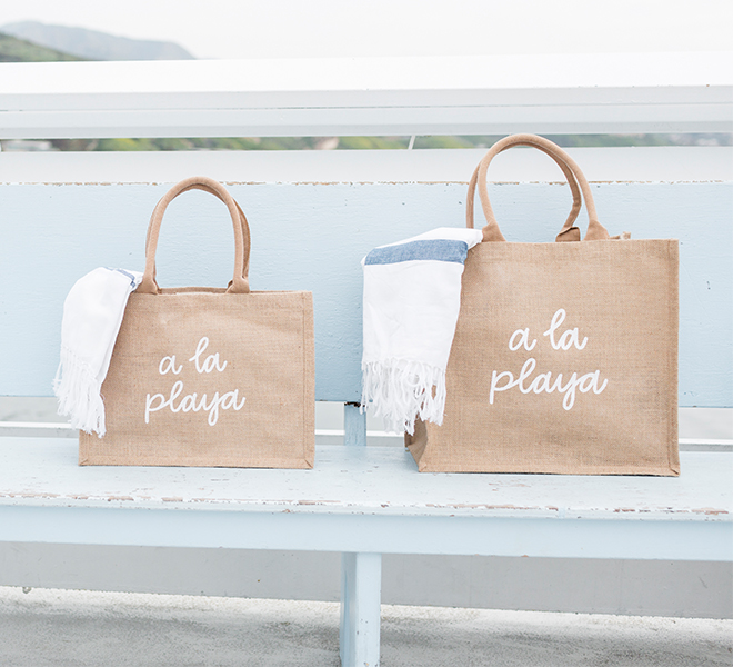 The Little Market Tote Bags