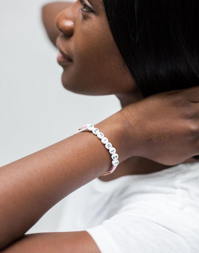 The Little Market Feminist Bracelet