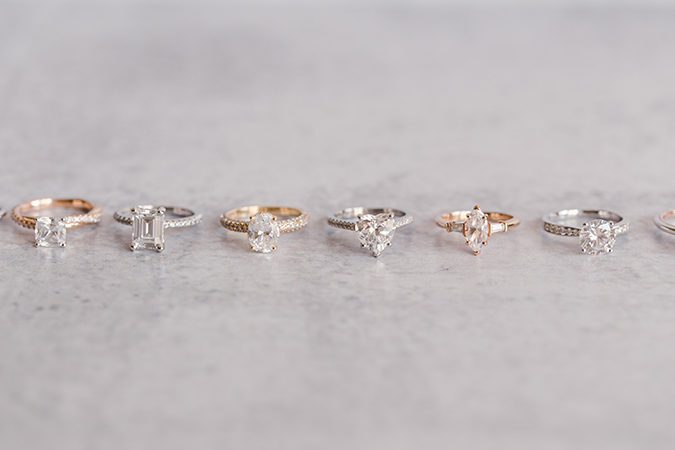 James Allen Diamond Rings