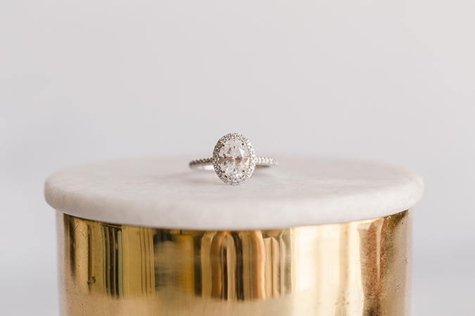 James Allen Oval Cut Diamond Ring