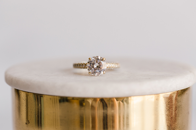 James Allen Round Cut Diamond Ring