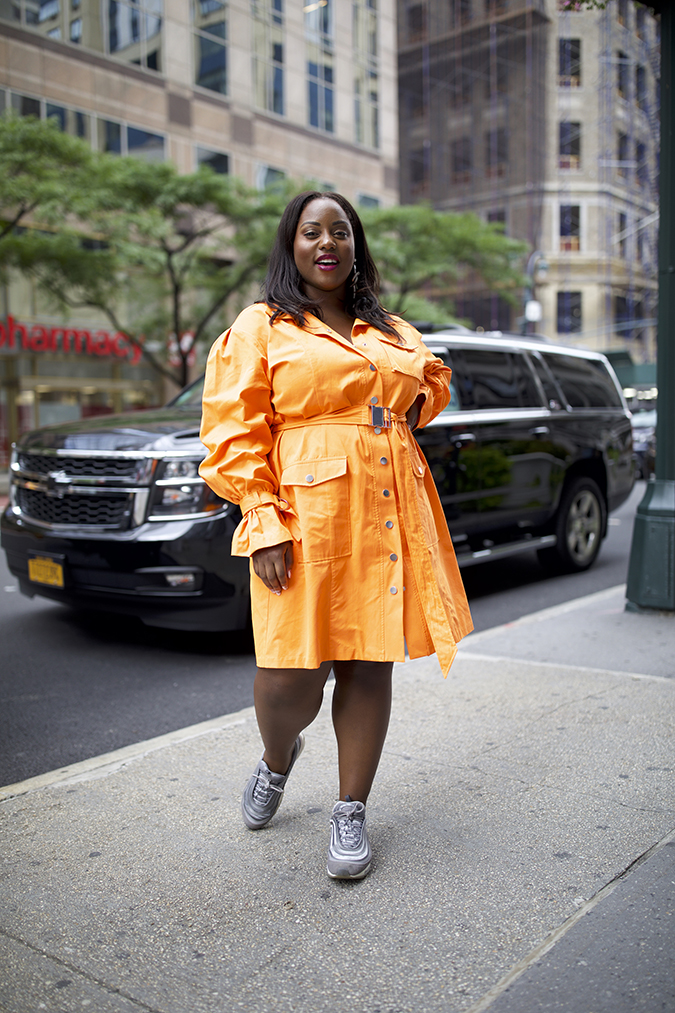10 Street Style Looks Spotted at CurvyCon