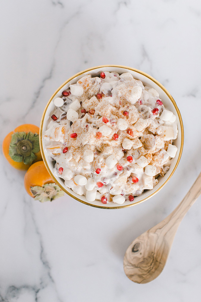 Fall Fruit Ambrosia Salad